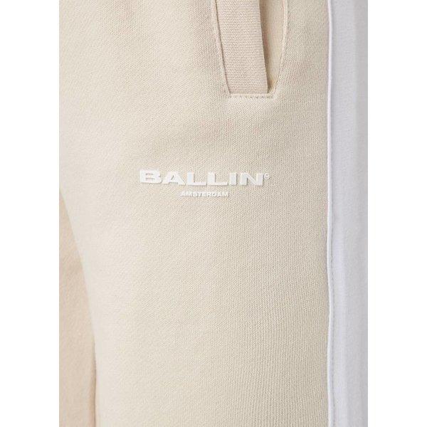Ballin Amsterdam Damen Nude / Weiße Streifen Jogger
