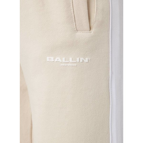 Ballin Amsterdam Ladies Nude / White Stripes Joggers
