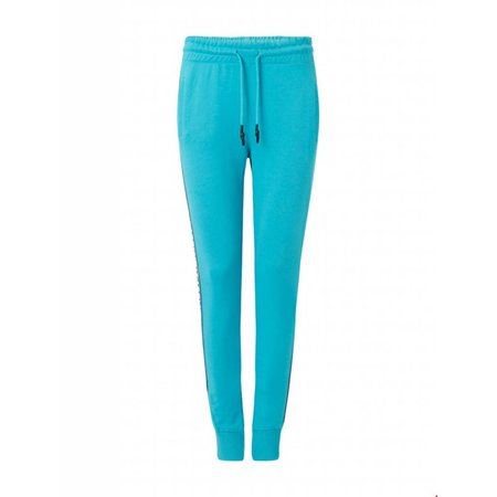 Ballin Amsterdam Dames Tape  Pants Turquoise