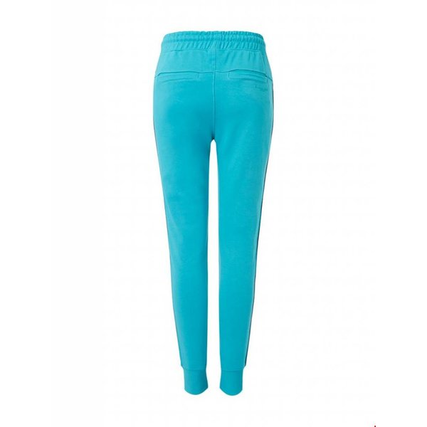 Ballin Amsterdam Dames Tape  Pants Turquoise