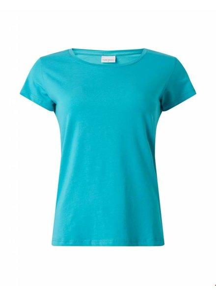 Ballin Amsterdam Ladies Tape T-shirt Turqoise