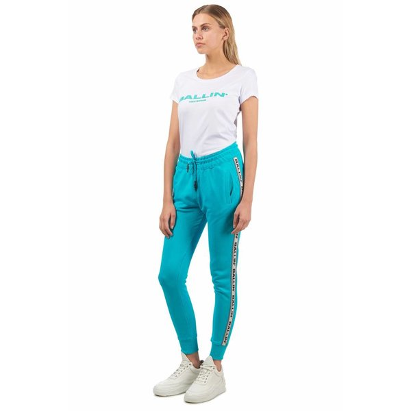 Ballin Amsterdam Ladies Tape Pants Turquoise