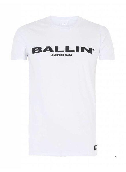BALLIN Amsterdam Original T-shirt Wit