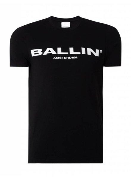 BALLIN Amsterdam Original T-shirt  Zwart