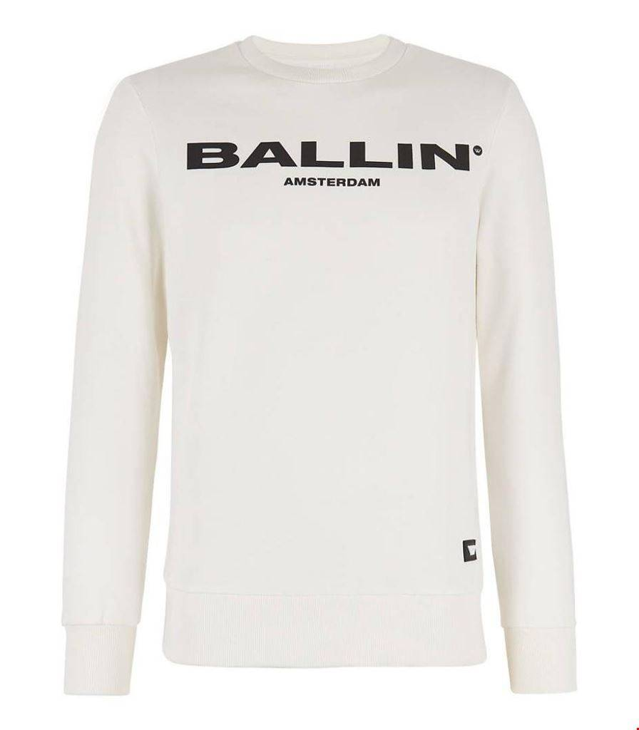 Trui Sweater.Ballin Amsterdam Original Sweater Off White Ballin Amsterdam