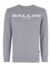 BALLIN Amsterdam Original Sweater Grijs