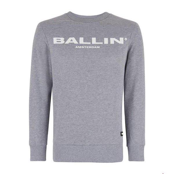 BALLIN Amsterdam Original Pullover Grau # 17040301