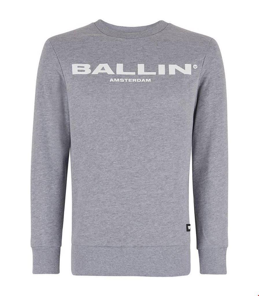 BALLIN Amsterdam Original Sweater Gray # 17040301