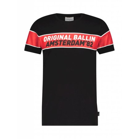 BALLIN Amsterdam T-shirt Black / Camo - Copy - Copy - Copy - Copy