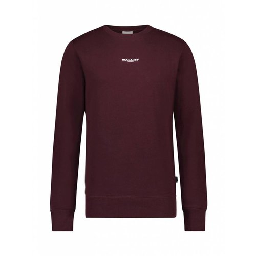 BALLIN Amsterdam Sweater Bordeaux