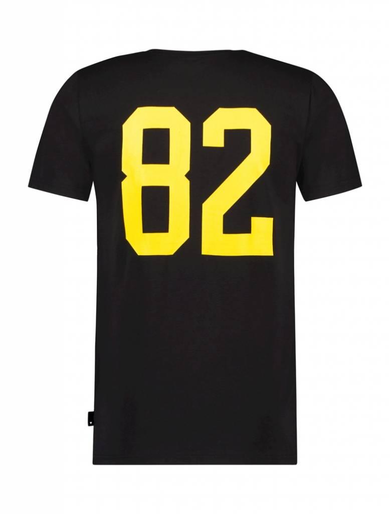 Ballin Amsterdam T-Shirt 82 Schwarz / Gelb