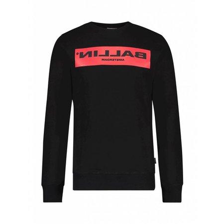 BALLIN Amsterdam Reflection Sweater Black / Red