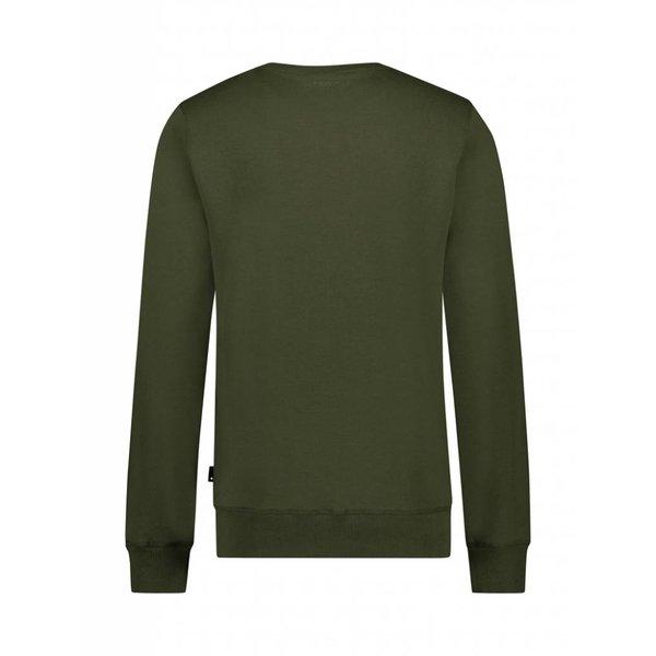 BALLIN Amsterdam  Reflection Sweater Legergroen / Geel
