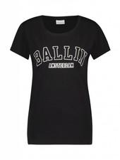 BALLIN Amsterdam Dames College T-shirt Zwart