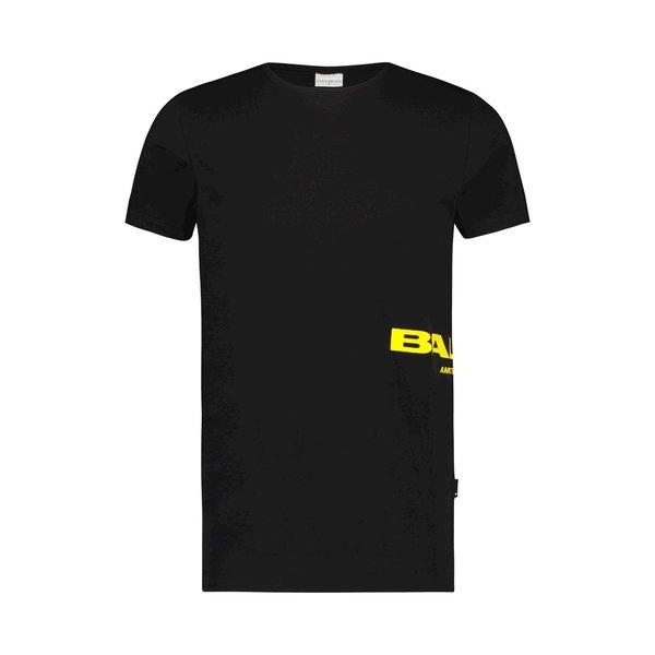 Ballin Amsterdam T-shirt Black / Yellow SS19
