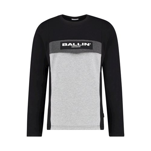 Ballin Amsterdam Anorak Sweater SS19 Colourblock Black