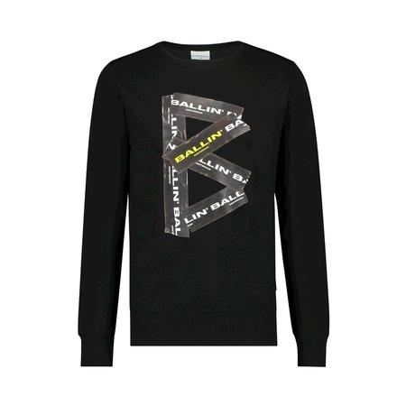 Ballin Amsterdam B Sweater Zwart SS19