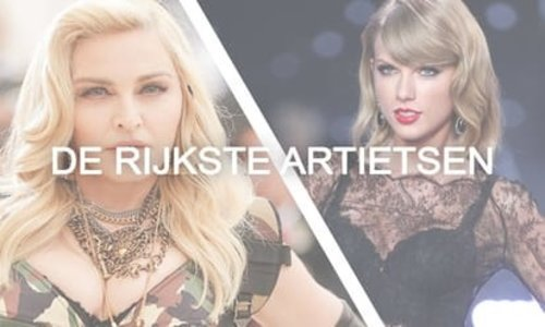 De rijkste levende artiesten van nu