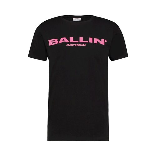 BALLIN Amsterdam T-shirt Black / Pink