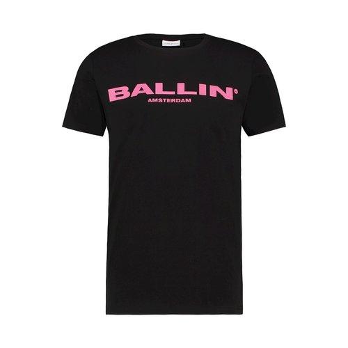 BALLIN Amsterdam T-Shirt Schwarz / Pink