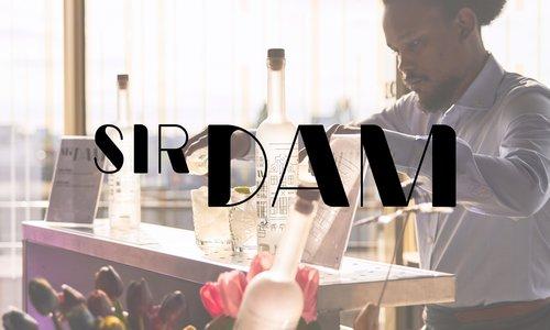 Sir Dam vodka, een nieuw uniek Amsterdams Vodka merk!
