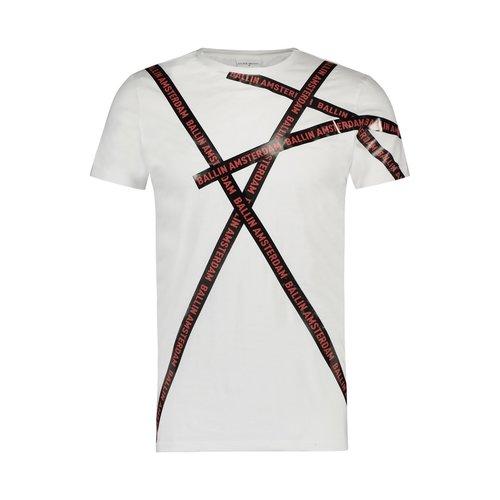 Ballin Amsterdam T-Shirt Weiß / Rot SS19