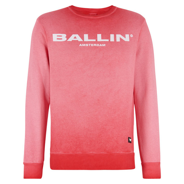 BALLIN Amsterdam Sweater White / Red - Copy - Copy - Copy