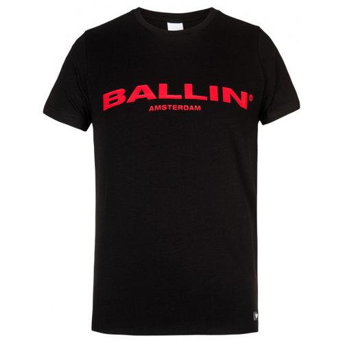 Ballin Amsterdam T-Shirt Schwarz / Rot