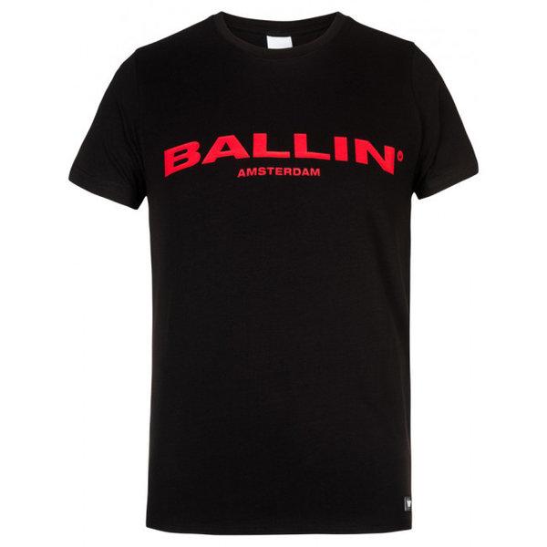 Ballin Amsterdam T-shirt Black / Red