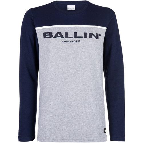 Ballin Amsterdam Rollkragenpullover Grau SS19 - Copy - Copy