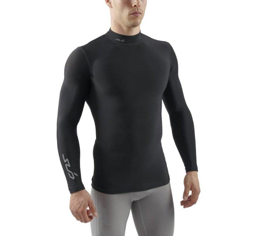 Sub Sports Cold Mock Heren Zwart Thermoshirt Winter