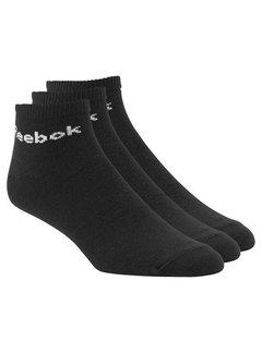 Reebok Reebok Enkelsokken Zwart (3 paar)