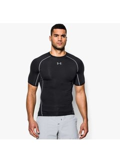 Under Armour Under Armour Heatgear Kompressions Shirt Schwarz
