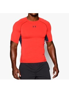 Under Armour Under Armour Heatgear Compressieshirt Fel Oranje