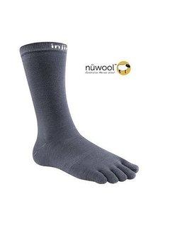 Injinji Injinji Liner Crew Nuwool Socken mit Holzkohle