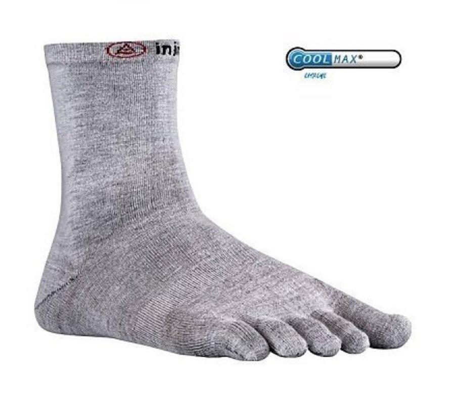 Injinji Liner Coolmax Liner Grau-Socken