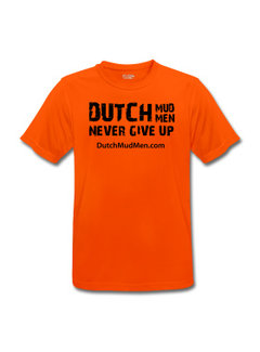 Dutch Mud Men DMM Sport Shirt Orange