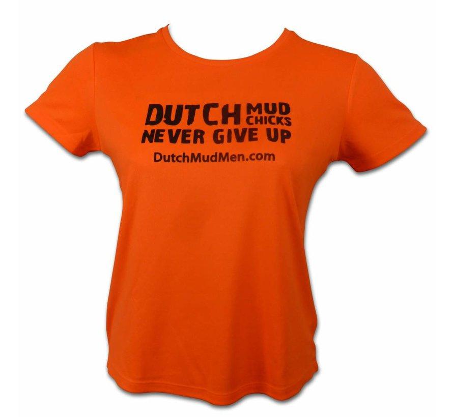 Dutch Mud Chicks Skull Orange