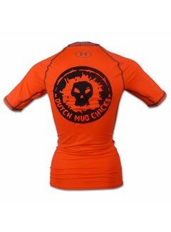 Dutch Mud Men Dutch Mud Chicks Teamshirt Under Armour Compression Orange