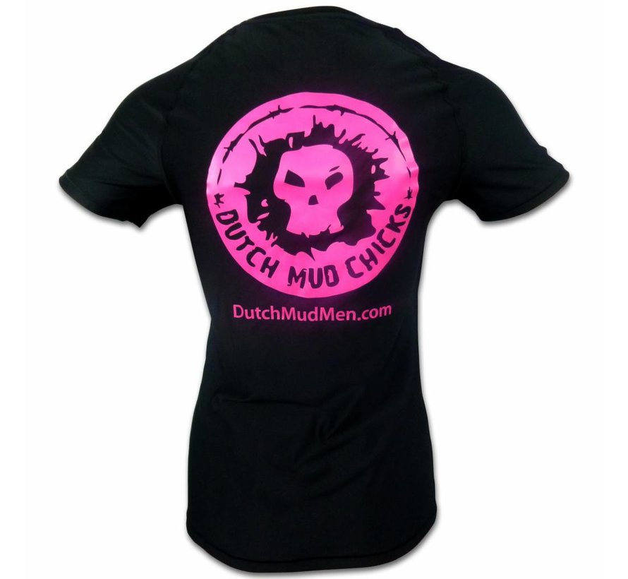 Dutch Mud Chicks Teamshirt Under Armor Fitted