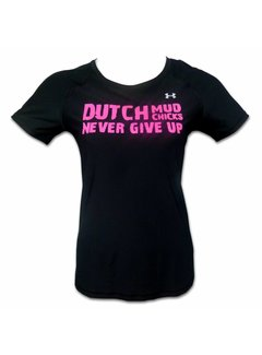 Dutch Mud Men Dutch Mud Chicks-Teamshirt unter der gepaßten Rüstung