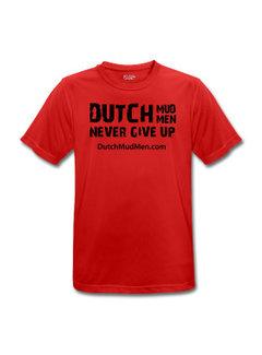 Dutch Mud Men Dutch Mud Men Skull Sportshirt Rood