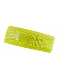 Compressport Compressport Smalle Hoofdband On/Off Geel