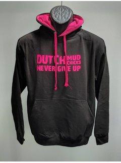 Dutch Mud Men Dutch Mud Chicks Pullover Schwarz-Pink