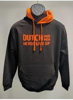 Dutch Mud Men Dutch Mud Men Sweater Black-Orange