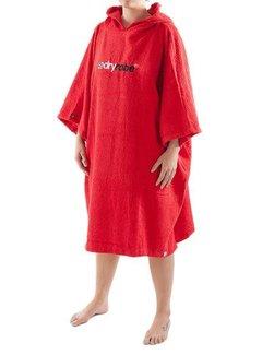Dryrobe Dryrobe Towel Rood Omkleedbadjas
