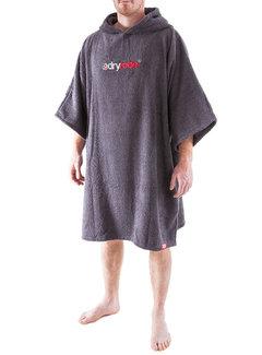 Dryrobe Dryrobe Towel Grijs Omkleedbadjas