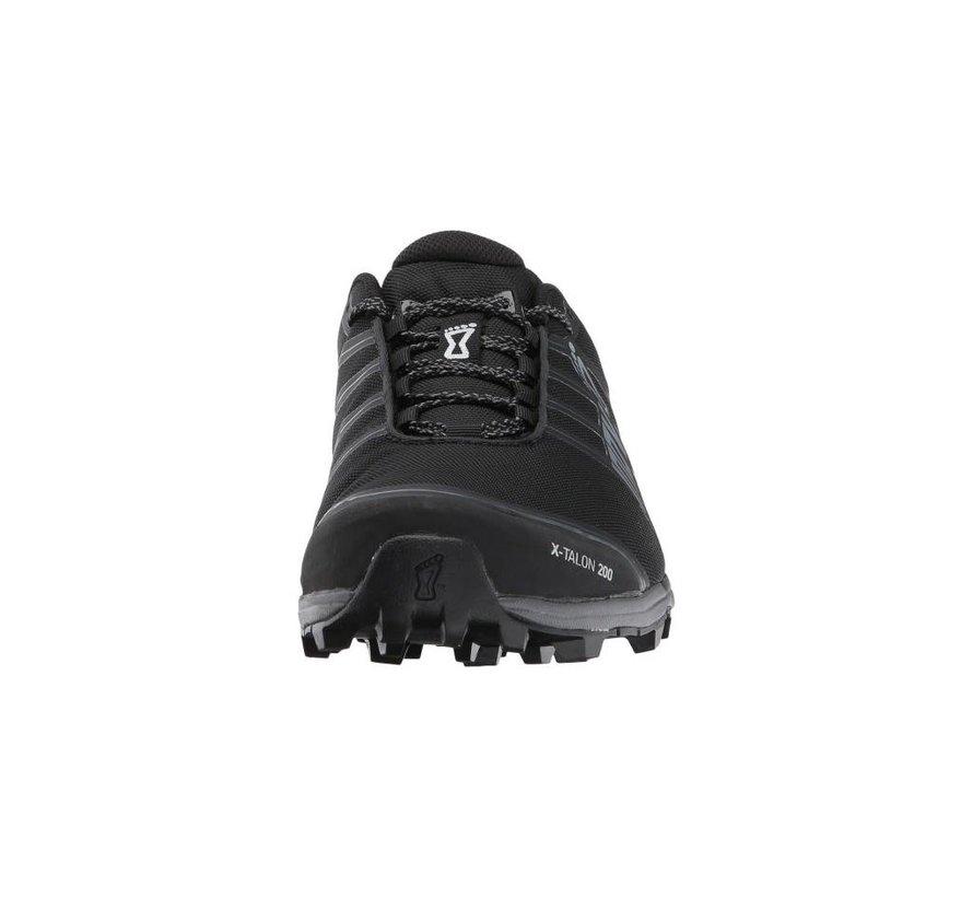 Inov-8 X-Talon 200 Black Obstacle and Trail Run Shoe