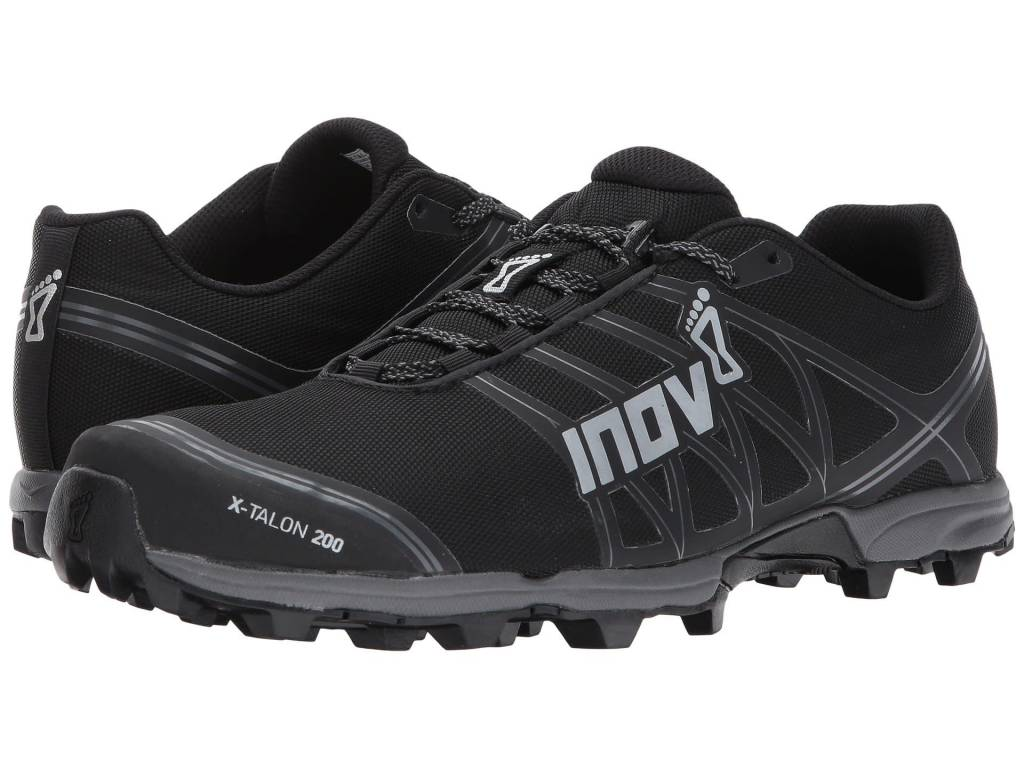 size 40 1dcbd 505cb Inov-8 X-Talon 200 Black Trail Shoe