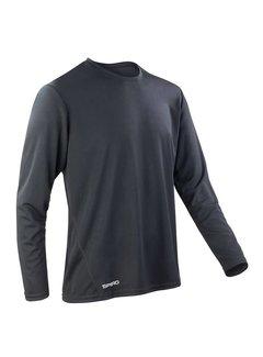 Spiro Spiro Quickdry Longsleeve T-Shirt Herren
